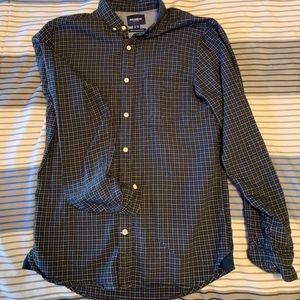 Pull & Bear Casual Checkered Button Down Shirt.